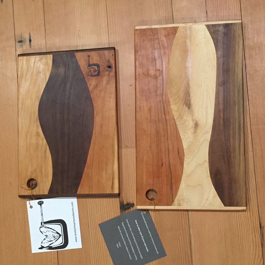 Cherry Maple Walnut cutting board